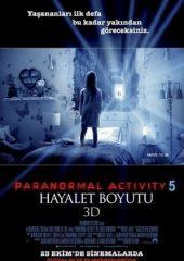 Paranormal Activity 5: Hayalet Boyutu Türkçe Dublaj İzle